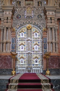 Iconostasis, Church of the Saviour on Spilled Blood