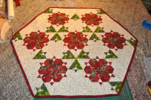 Table topper finished