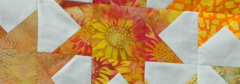 Creative Oozings #19 – A Crafting Holiday: Star Baby Quilt