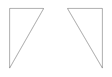 Half-equilateral triangles