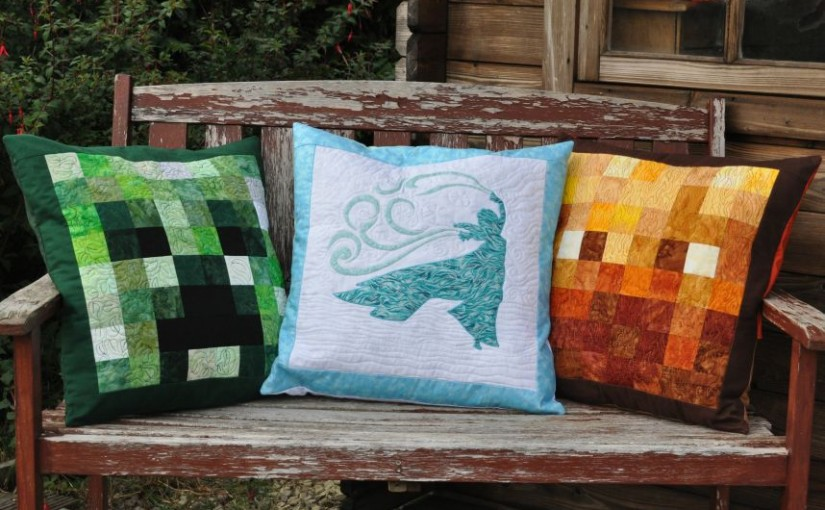 A Trio of Cushions