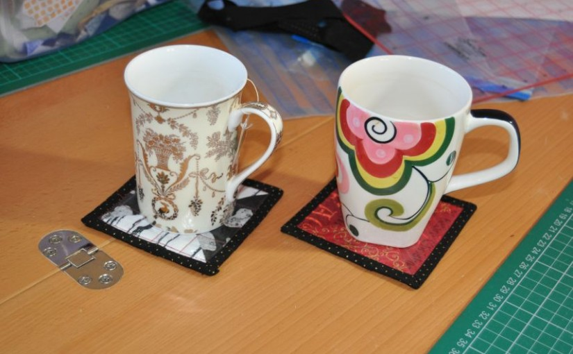 Mug Rugs – Using Iron-On Vinyl