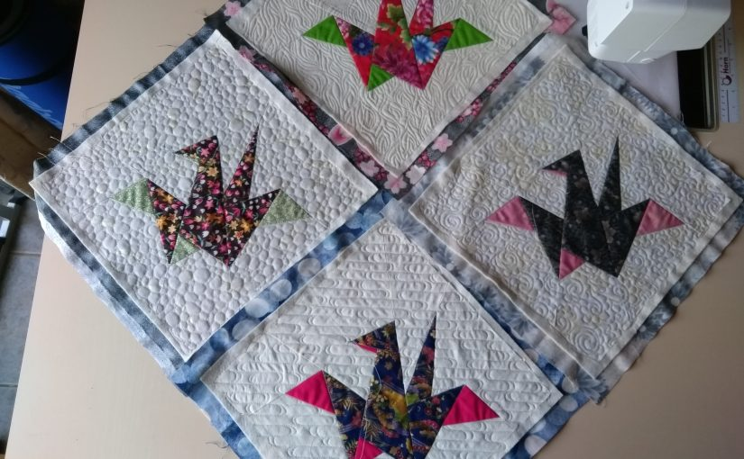 Festival of Quilts 2019 – Entry 1, Birds Of A Feather